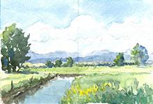 Hafen & Landschaft